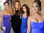 Eva Longoria and La La Anthony are babes in blue as they party at lavish Puerto Rico wedding