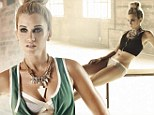 'Good underwear won't let you down': Ashley Roberts credits seamless knickers to her flawless showings as she takes part in sexiest shoot yet