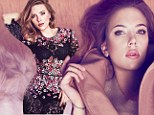 'I don't like jealous behavior': Scarlett Johansson dons floral bodysuit and discusses her relationships in Marie Claire