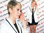 Michelle Williams attends the Kate Young for Target launch event on April 9, 2013 in New York City