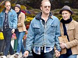 Robin Wright and toy boy Ben Foster enjoy romantic stroll and some shopping before her birthday
