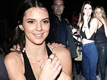 When in Rome: Kendall Jenner dresses like a bad girl in cropped top as she watches Rihanna in concert