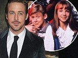 Young love birds: Ryan Gosling admitted that Britney Spears was his sweetheart growing up in a recent interview