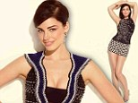 Pins on parade! Mad Men star Jessica Paré shows off her long legs and stunning figure in a series of stunning outfits for magazine shoot