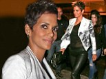 Pregnant actress Halle Berry, who is in Brazil to promote her latest movie The Call, steps out for dinner in Rio on Wednesday