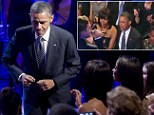 The President enjoyed a star-studded concert at the White House on Tuesday night celebrating the sound of Soulsville