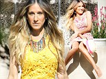 Sarah Jessica Parker harks back to her Sex And The City days in flirty new fashion campaign
