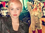 Upgrade: Miley Cyrus in a Chanel onesie