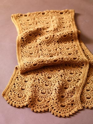 Image of Sweet Scallops Shawl