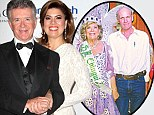 Alan Thicke and his wife, Tanya Callau, left, whose mother Ruth Miriam Callau, right, has been accused of killing her husband, Dutch farmer Petrus Jacobus Gerardus Dekker, far right