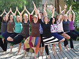 Open to all: Sarede Switzer, the founder of Crown Heights Fitness, in Brooklyn, decided to adapt the Hindu practice of yoga so that Orthodox Jewish men and women could join in