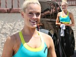 Ready to quickstep! Peta Murgatroyd flaunts her toned arms in athletic bra-top at Dancing with the Stars rehearsal