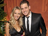 Parents to be: Michael Bublé has revealed his unborn baby is already a fan of his music, because his pregnant wife Luisana Lopilato plays it for the child