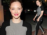 Trompe L'oiel fail: The optical illusion of Amanda Seyfried's dress wasn't as clear as it was probably meant to be