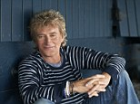 Back to his best: Rod Stewart, snapped by wife Penny Lancaster, has just released his new video for single It's Over, ahead of his album launch next month