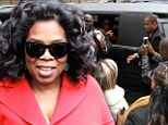 So much buzz! Oprah got mobbed by fans as she left the Fairmount Queen Elizabeth hotel in Montreal, Canada on Thursday