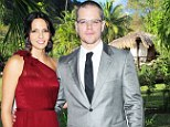 Caribbean celebration! Matt Damon and wife Luciana 'to renew wedding vows this weekend'