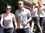Robert Pattinson and Kristen Stewart continue their display of unity on another day out together