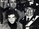 John Paul Getty III after his release from captivity in 1974, seen here leaving the local police station in Lagonegro, Southern Italy