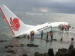 Emergency: The Indonesian airliner crashed into the sea off the coast of Bali today