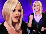 Pop of pink! Wild child Jenny McCarthy shows off asymmetric crop with magenta highlights