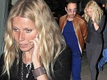 We hope it was gluten free! Gwyneth Paltrow dines with Iron Man 3 co-star Robert Downey Jr. at Munich beer restaurant