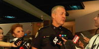 Toronto Police Chief Bill Blair at a press conference on June 25, 2010.