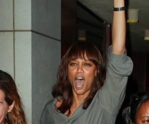 Tyra Banks Mans Up — Literally!