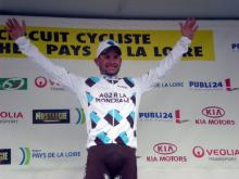 Anthony Ravard (Ag2r-La mondiale) won the bunch sprint of stage 2 at Circuit de la Sarthe in Angers