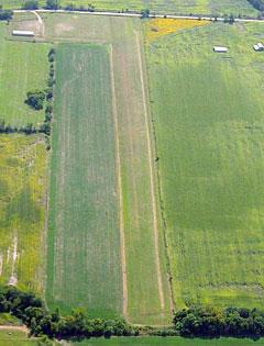 Aerial photo of 7MO (Princeton-Kauffman Memorial Airport)