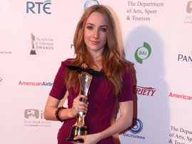 RTÉ.ie Entertainment: Saoirse Ronan - Picked up the award for Best Actress in a Lead Role in Film for The Lovely Bones