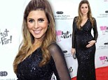 Pregnant Jamie-Lynn Sigler covers her growing bump in glamorous sequins to sing duet for cancer benefit