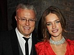 Facing trial: Alexander Lebedev, pictured with Natalia Vodianova, is charged with 'hooliganism' after hitting a businessman on a TV chat show