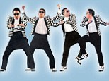 Gentleman style: Psy does his latest energetic dance, which include hip thrusts and side shuffles