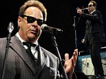 The Blues Brother is back! Dan Akyroyd shows he still has it at Eric Clapton's Crossroads Guitar Festival