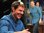 Tom Cruise got egg on his face on Friday after losing Egg Roulette while taping Late Night With Jimmy Fallon in New York City