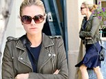 Anna Paquin goes to the hair salon in West Hollywood on Friday
