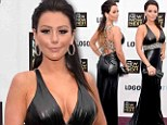 Cheesy choice: JWoww wore a pleather gown to the 2013 NewNowNext Awards at The Fonda Theatre in Los Angeles, California on Saturday