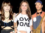 Celebrities seen on day 2 of the Coachella Valley Music and Arts Festival in Coachella, California