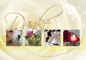 Danksagungskarten bilden den Abschluss der Hochzeit - das Brautpaar bedankt sich schriftlich für die Hochzeitsglückwünsche, die Hochzeitsgeschenke und die Hilfe in den vergangenen Monaten. – © Benjamin Haas - Fotolia.com