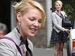 It is a fair trek from her new hometown of Utah so perhaps Katherine Heigl was slightly feeling the strain as she popped out for lunch with her mother in Hollywood.