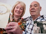 Still going strong 50 years on! Childhood sweethearts, 66 and 69, who married on her 16th birthday, become Britain's youngest to celebrate golden wedding anniversary