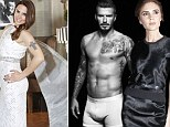 Mel C and how she is sick of seeing Beckham in his boxers
