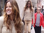 Mother-daughter time: Kelly Bensimon was seen out and about with her daughter Sea Louise on Saturday in New York's Soho neighborhood