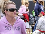 Blast from the past! Britney Spears dons her classic casual style as she reunites with ex-husband Kevin Federline at their childrens' soccer game