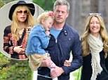 Rebecca Gayheart and Eric Dane take daughter Billie to Rachel Zoe's home for Skyler's star-studded birthday bash