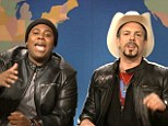 Saturday Night Live stars Jason Sudeikis and Kenan Thompson mock LL Cool J and Brad Paisley's Accidental Racist storm