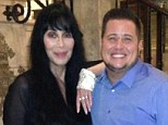 Family photo: Chaz Bono posted a photo on Twitter with famous mom Cher on April 7