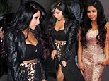 Jersey Shore cast leave STK in Hollywood with Nicole 'Snooki' Polizzi and Ronnie Ortiz-Magro
