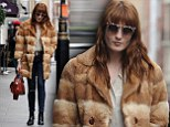 Florence Welch is pictured out and about in London
